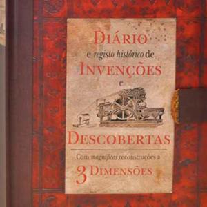 Diário e Registo Histórico de Invenções e Descobertas – Livro Pop-up